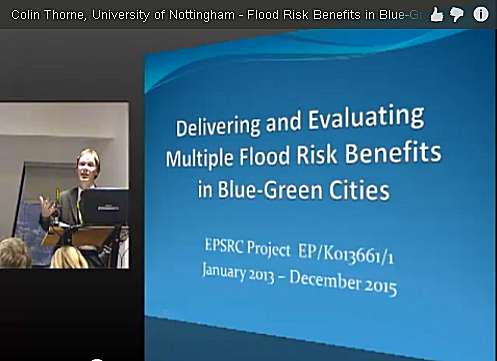Multiple Blue Green Flood Risk Benefit